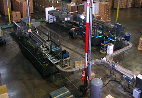 Carton Loader and Merging Conveyor