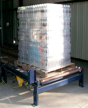 Stretch Wrapped Pallet Load