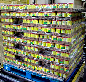 Shrink Bundled Palletized Trays