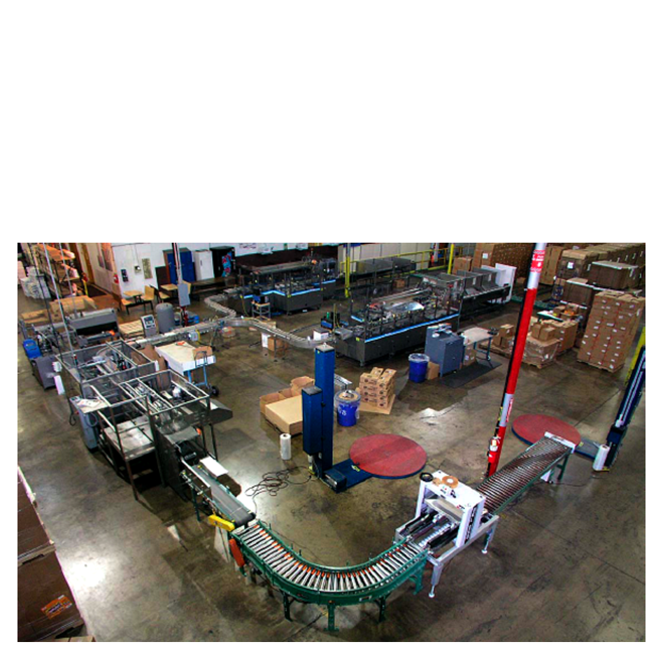 Overview of Entire Packaging Line