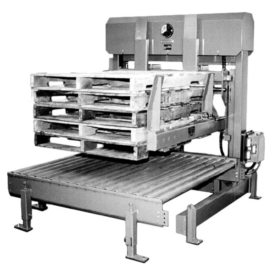 A-B-C 72A Pallet Stacker-Dispenser