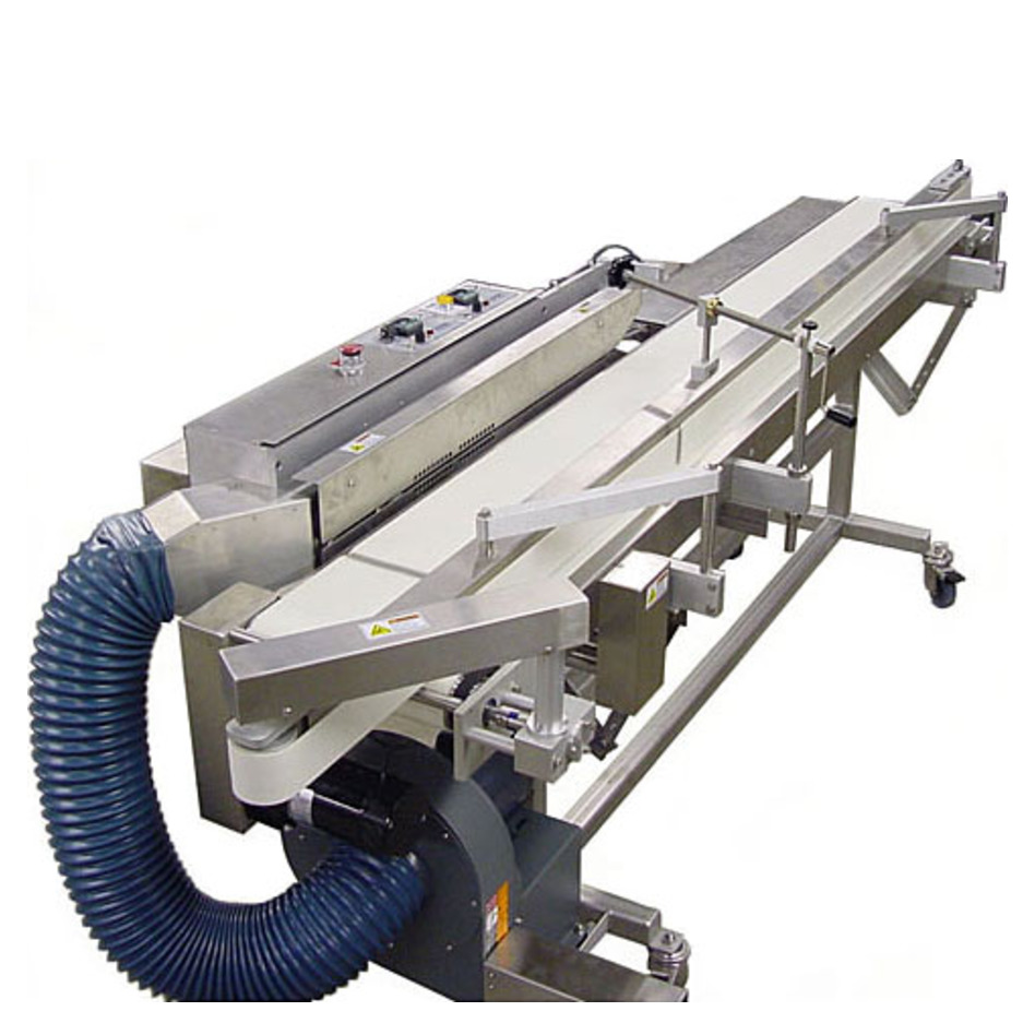 APM HCBS-1/4 CT Dual Horizontal Conveyorized Band Sealer