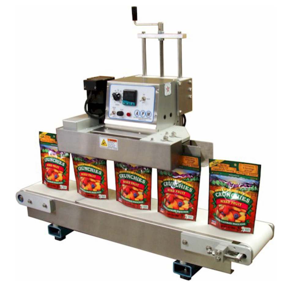 APM TCBS-DM-3/8 Table-Top Conveyorized Band Sealer