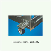 Arpac 25TW-28 Casters for Machine Portability