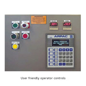 Arpac 25TW-28 User Friendly Operator Controls