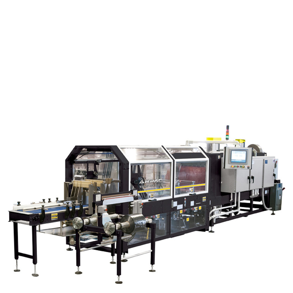 Arpac Brandpac BPMP-5000 Continuous Motion Multipacker