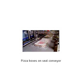 Arpac HCF37-3 Pizza Boxes on Seal Conveyor