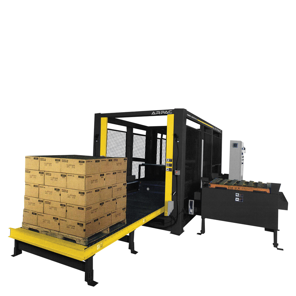 Arpac L-1000 Low Level Conventional Palletizer