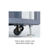 Arpac L18 Heavy Duty Casters and Adjustable Height Legs