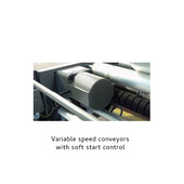 Arpac L18 Variable Speed Conveyors with Soft Start Control Panel