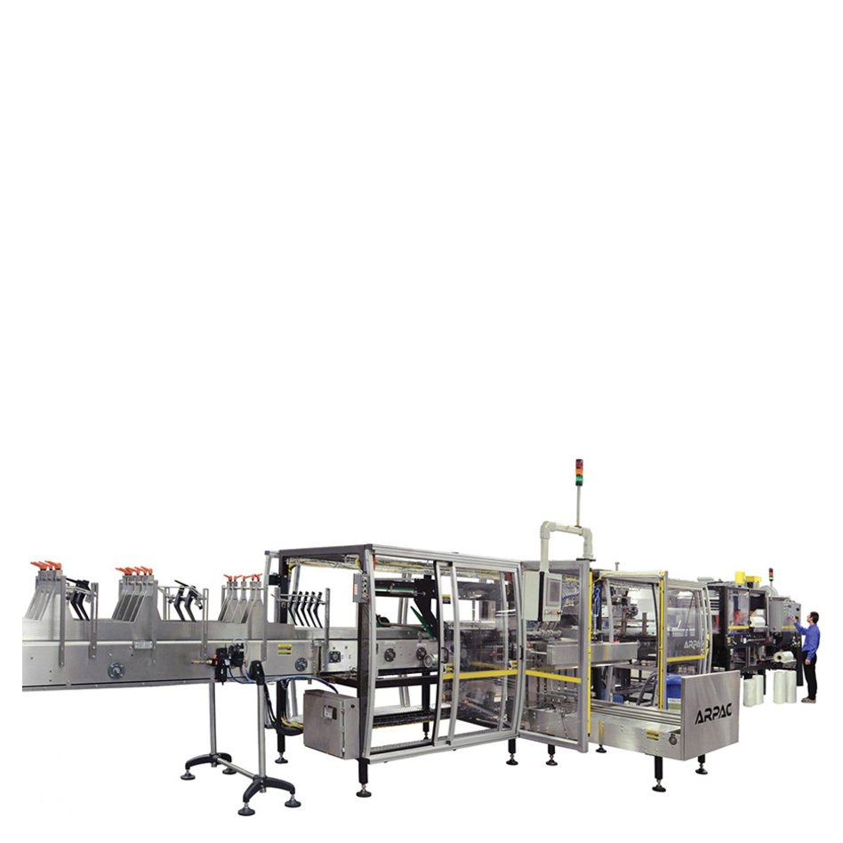 Arpac PC-4500 Continuous Motion Wrap-Around Case Packer