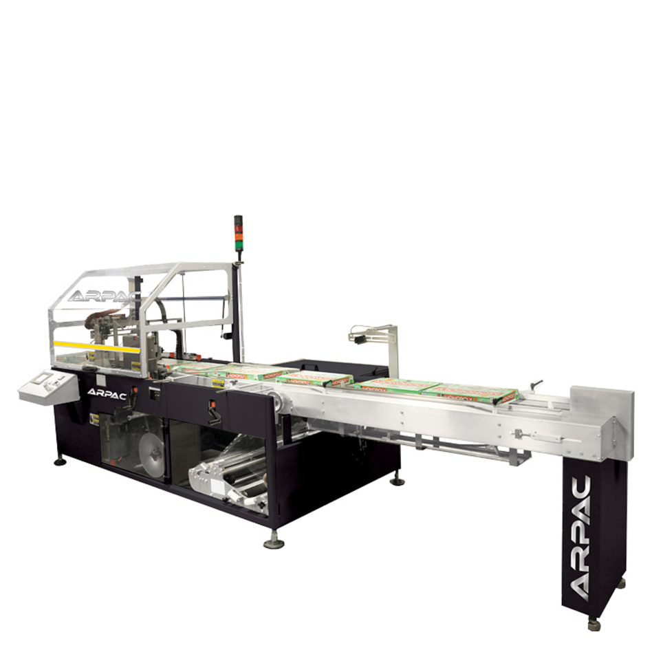 Arpac XLR8 Servo-Driven Side Seal Horizontal Shrink Wrapper