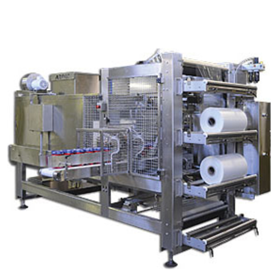Arpac AGR-Series Shrink Bundler for Dairy Products