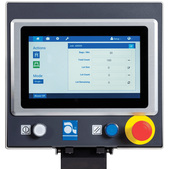 Autobag 500 Bagging System Control Screen