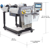 Autobag 650 Bagging System Dimensions