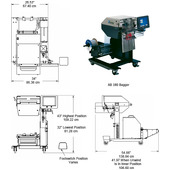 Autobag AB 180 High-Speed Automatic Bagger Layout