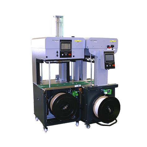 Dynaric NP7000 Inline High-Speed Fully Automatic Strapping Machine
