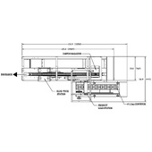 Econoseal Spartan Horizontal Cartoner Machine Layout