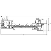 Econoseal T-System Tray Cartoner Machine Layout