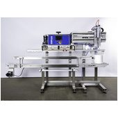Emplex MPS 7501 Vacuum Sealing Gas Flushing Band Sealer with 7503 Conveyor