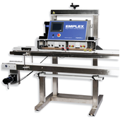 Emplex MPS 7503 Vacuum Sealing Gas Flushing Band Sealer with Conveyor Close Up