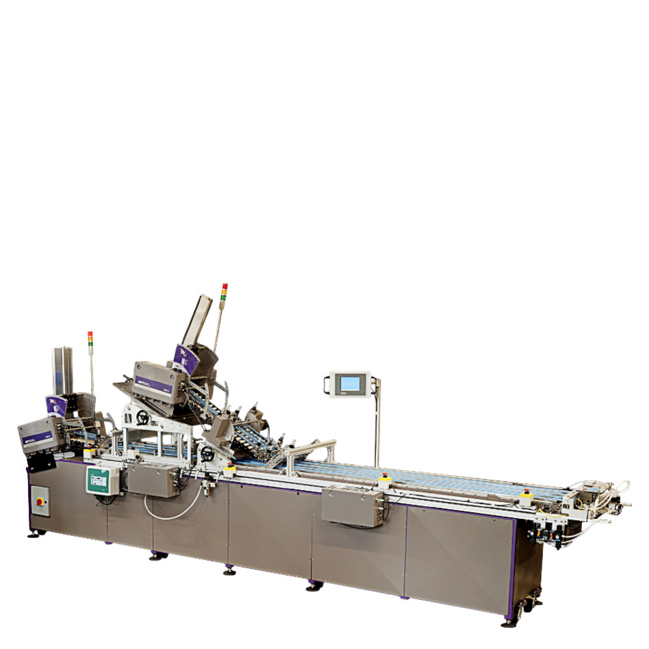 Multifeeder Technology MFT Perfect Affixing System