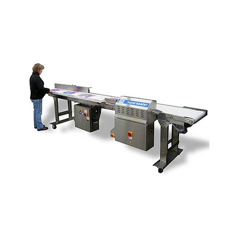 OK Supersealer T-Pak 500 Conveyor Bag Sealing System
