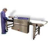 OK Supersealer T-Pak 500 Conveyor Bag Sealing System with MBS Medical Band Sealer