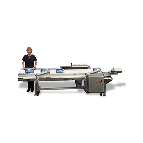 OK Supersealer T-Pak 750 High Speed Conveyor Bag Sealing System