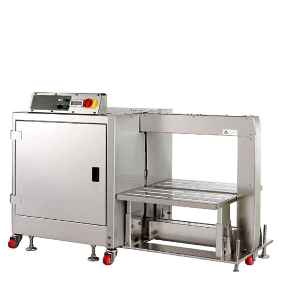 Polychem PC1500SS Automatic Stainless Steel Strapping Machine