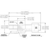 Shanklin FloWrap F-AC Shrink Wrap Equipment Plan Drawing