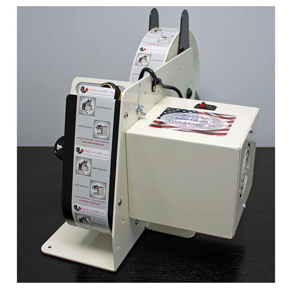 TAL-250 Label Dispenser with Photo Eye Sensor