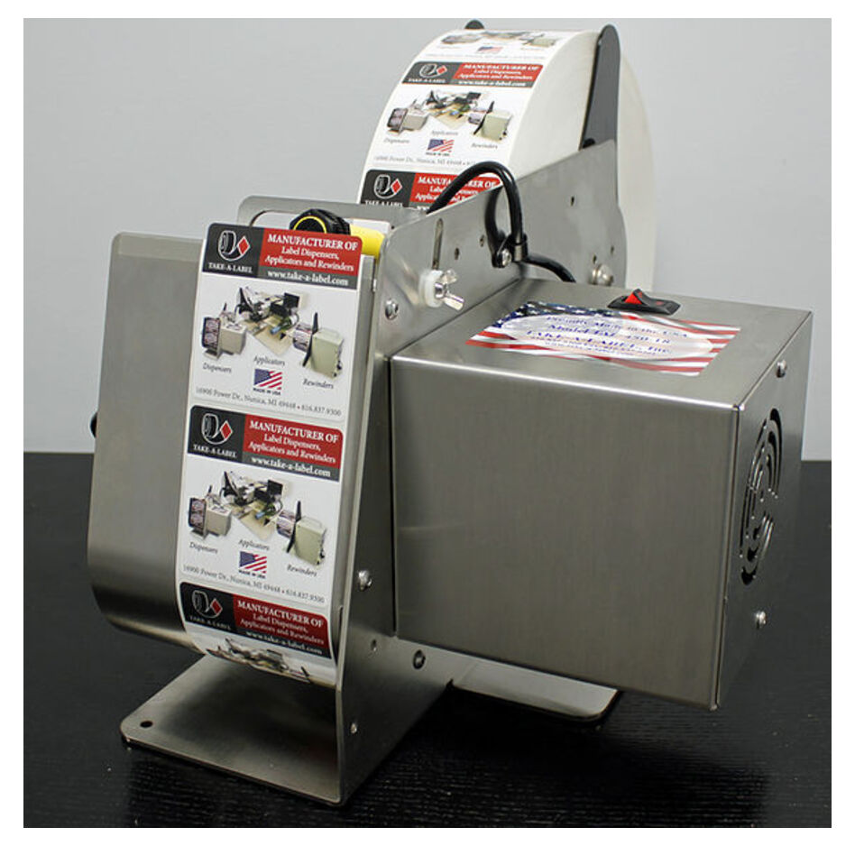 TAL-450SS Stainless Steel Label Dispenser