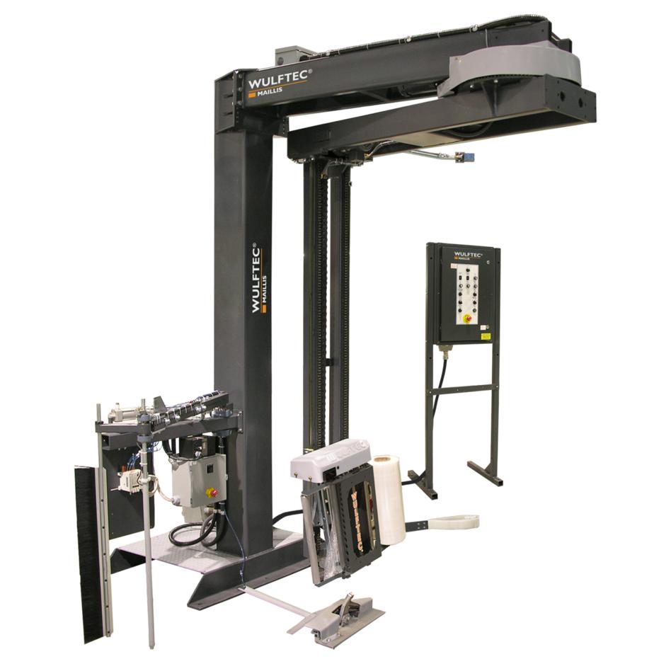 Wulftec WRTA-150 Automatic Stretch Wrapper