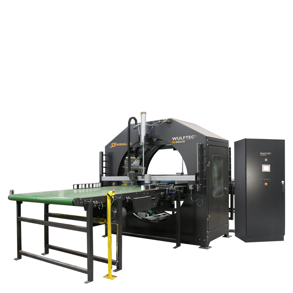 Wulftec WRWA-200 Horizontal Automatic Stretch Wrapping System