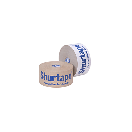 shurtape wp 240 printed water activated tape professional